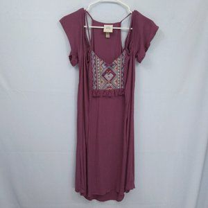 ⭐ Knox Rose Off the Shoulder Southwestern Dress